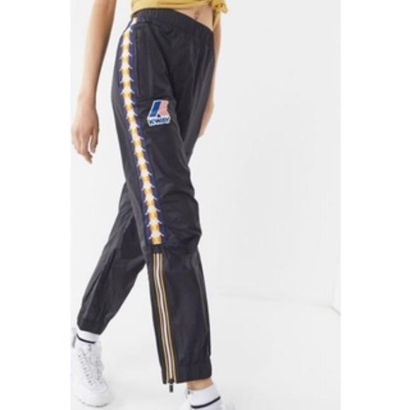 d0be5ae49c Kappa K Way Le Vrai Edgard Banded Pants Large NWT NWT